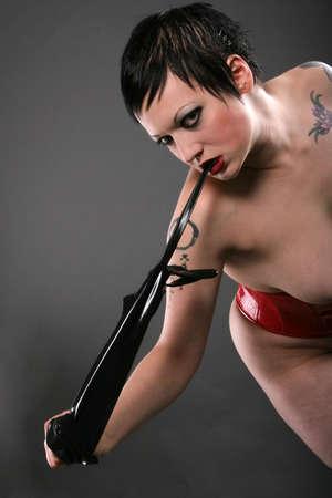 Sexy alternative girl photo