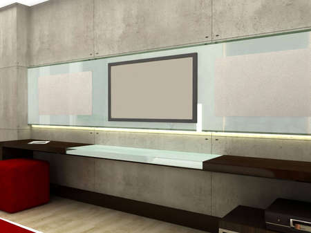 3D rendering of a television set Stock Photo - 5568308