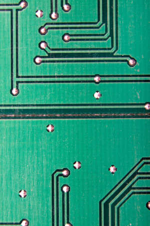 Close up of circuit board Banco de Imagens