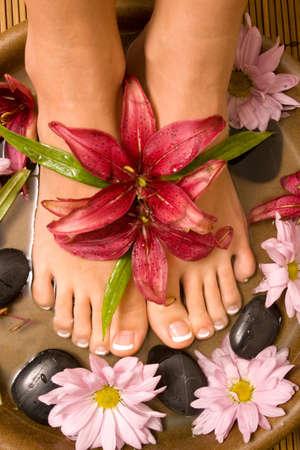 pampering: Footcare y mimarse en el spa