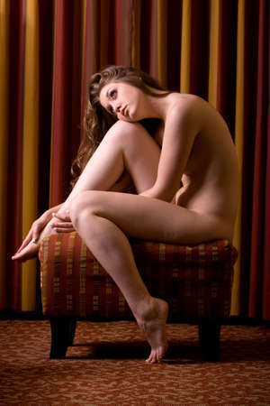 sexy woman nude: Pretty young woman in nude