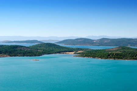 View of Gallipoli peninsula in Turkey