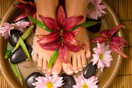 Footcare and pampering at the spa Stock Photo - 5990012