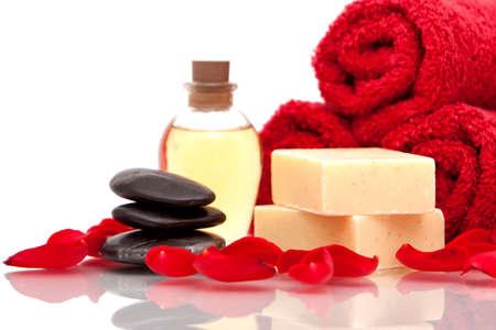 Various spa or bath items