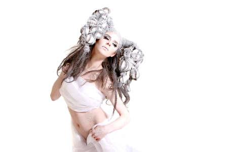 Mujer de hielo Foto de archivo - 6255071