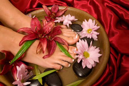 Footcare and pampering at the spa Stock Photo - 6370049