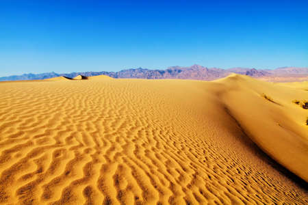 mapped: Sand Dunes in Death Valley National Park California
