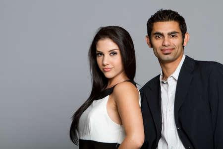 Erfolgreiche junge ethnischen Business-team