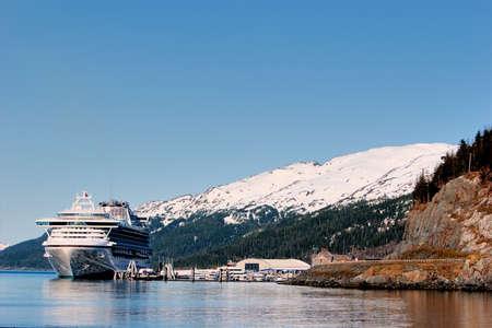 sounds: Cruse ship at Prince Williams Sounds Alaska