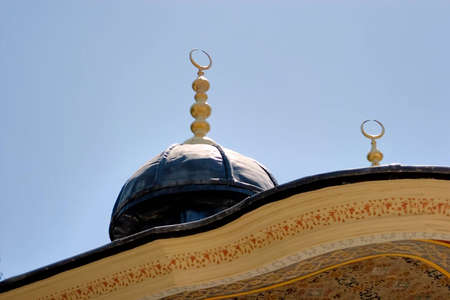Turkish mosque in Istanbul Imagens