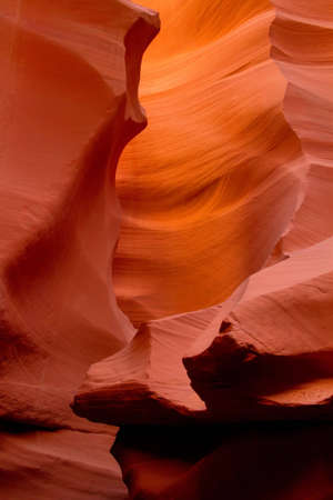 slot canyon: Slot canyon at the Antelope Canyon Stock Photo