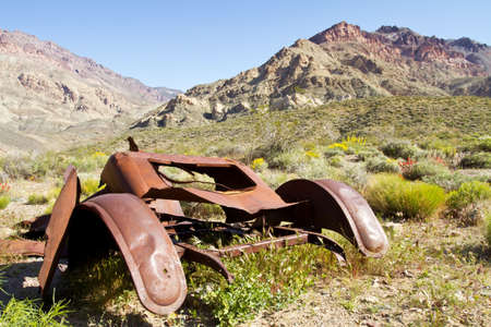 trashed: Scenery from Titus Canyon in Death Valley CA