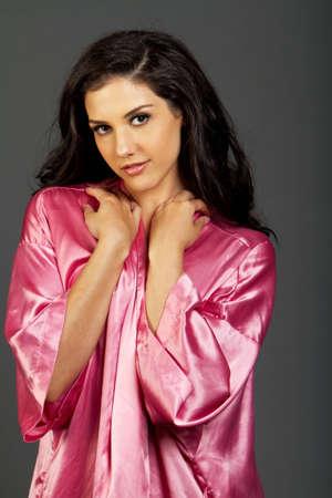 beauty shot: Gorgeous young ethnic woman beauty shot
