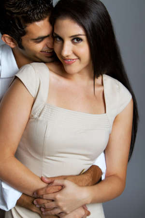 sexy couple: Sexy young ethnic couple in love Stock Photo