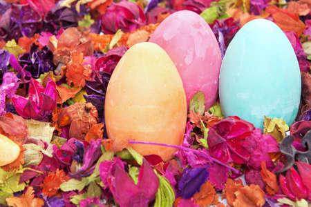 Dekorativ Easter eggs Studio shot Standard-Bild - 9003001