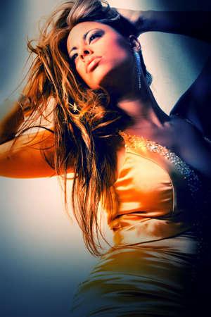 Wunderschöne Frau mit modischen Reizwäsche Standard-Bild - 10271205