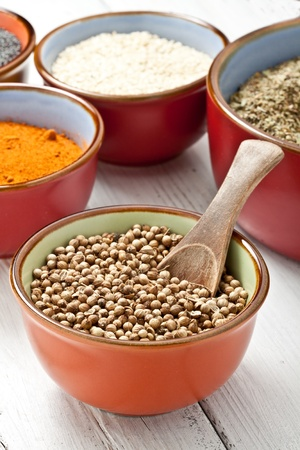 close up of spices on bowl Stock Photo - 10538954