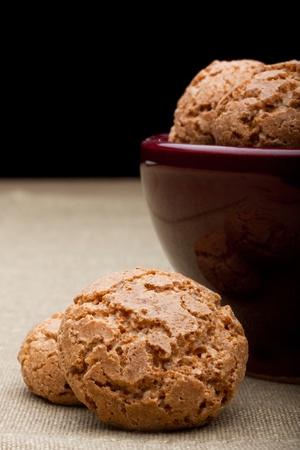 amaretti biscuits Фото со стока - 13859948