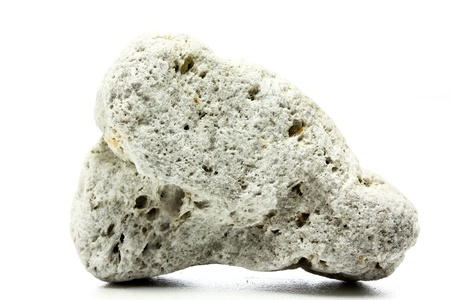single pumice isolated on a white background Фото со стока - 16063116