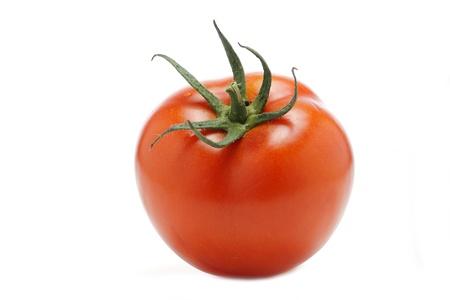 italian red tomato on a white background