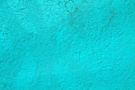 blu: background of an old wall painted by hand
