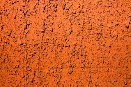 background of an old wall painted by hand