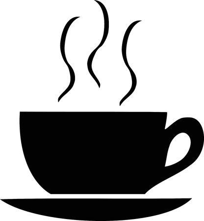 logos restaurantes: Una taza de caf�