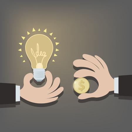 energia electrica: Venta de ideas. EPS 10 archivos