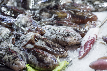cuttlefish: Traditional dishes are cooked to spahetti with black cuttlefish