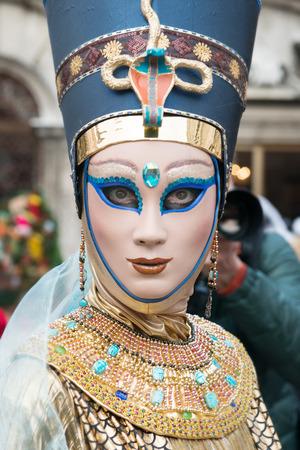 article of clothing: Mask Egyptian Women Stock Photo