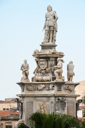 palermo: ancient statues in Palermo