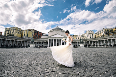 plebiscite: Wedding square plebiscite in Naples