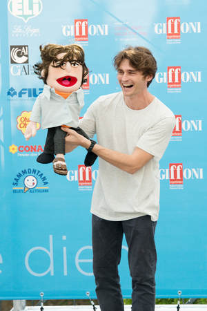 duro: GIFFONI VALLE PIANA (SA) - JULY 18: Actor Angelo Duro poses at photocall during the 45th Giffoni Film Festival at Cittadella del Cinema, July 18, 2015 in Salerno, Italy. Editorial