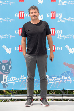 21: Giffoni Valle Piana, SA, ITALY - July 21, 2016: Director Paolo Genovese on photocall attends at Giffoni Film Festival 2016 - on July 21, 2016 in Giffoni Valle Piana, Italy.