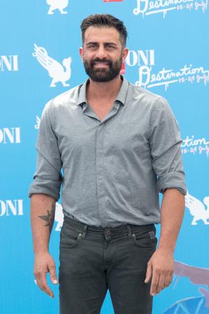 Giffoni Valle Piana, SA, ITALY - July 23, 2016: Actors Simone Montedoro at Giffoni Film Festival 2016 - on July 23, 2016 in Giffoni Valle Piana, Italy.