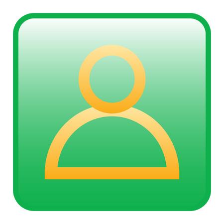 User icon Illustration