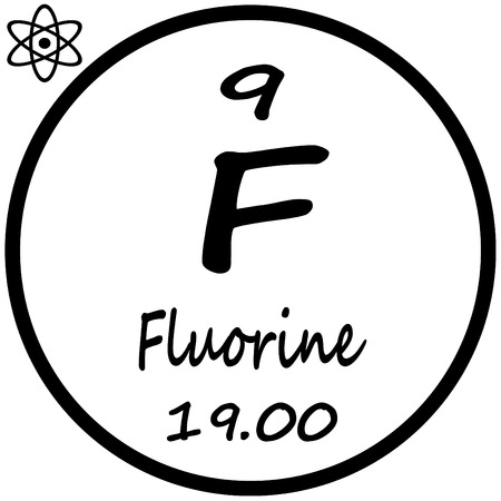 Periodic table of elements fluorine royalty free cliparts vectors periodic table of elements fluorine stock vector 53482425 urtaz Gallery