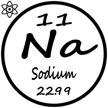 Periodic Table Of Elements Sodium Royalty Free Cliparts Vectors