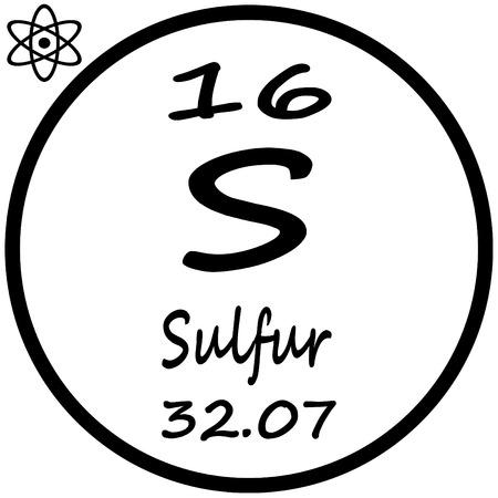 Tableau périodique des éléments - Soufre