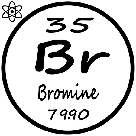 87 Bromine Periodic Stock Vector Illustration And Royalty Free