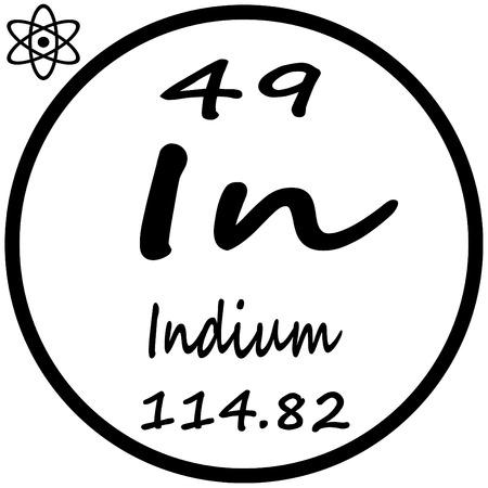 indium: Periodic Table of Elements - Indium