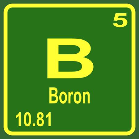 Tabla peridica de los elementos boro ilustraciones vectoriales foto de archivo tabla peridica de los elementos boro urtaz Images