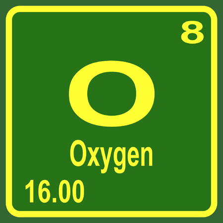 O oxygen stock photos royalty free o oxygen images and pictures periodic table of elements oxygen urtaz Gallery