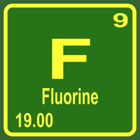 Periodic Table of Elements - Fluorine