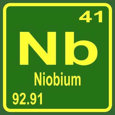 niobium: Periodic Table of Elements - Niobium