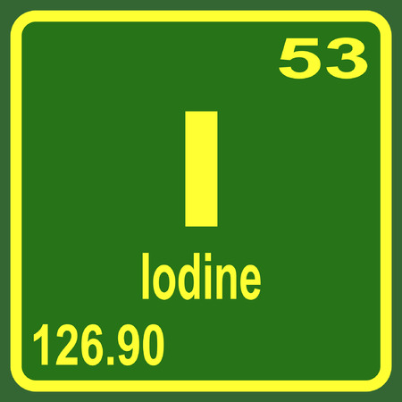 periodic table of the elements: Periodic Table of Elements - Iodine