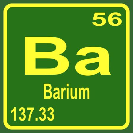 Periodic Table Of Elements Barium Royalty Free Cliparts Vectors