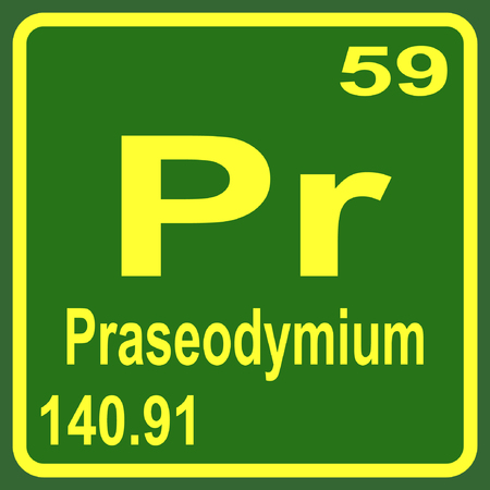 Periodic Table of Elements - Praseodymium