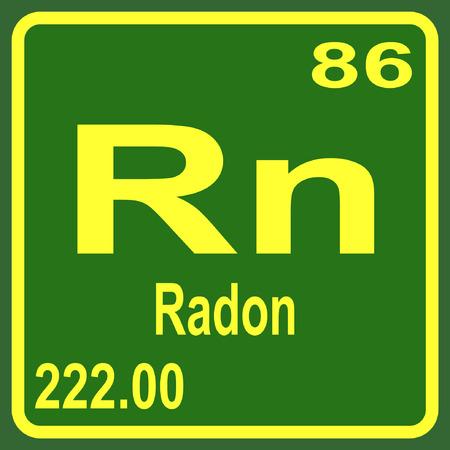 Periodic Table of Elements - Radon
