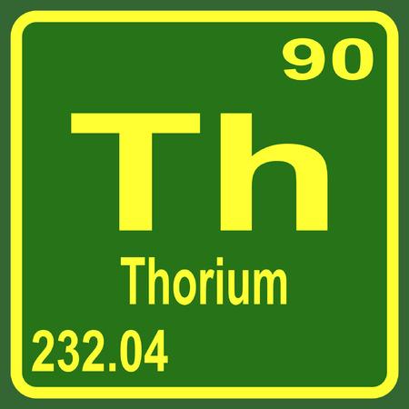 periodic table: Periodic Table of Elements - Thorium